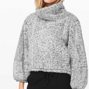 NWT Lululemon Warm Restore Sherpa Pullover